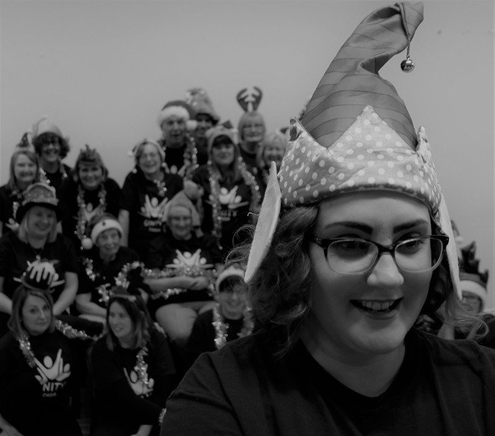 Unity Choir, The Singing Elf, Christmas Festive Times, Dec 2018