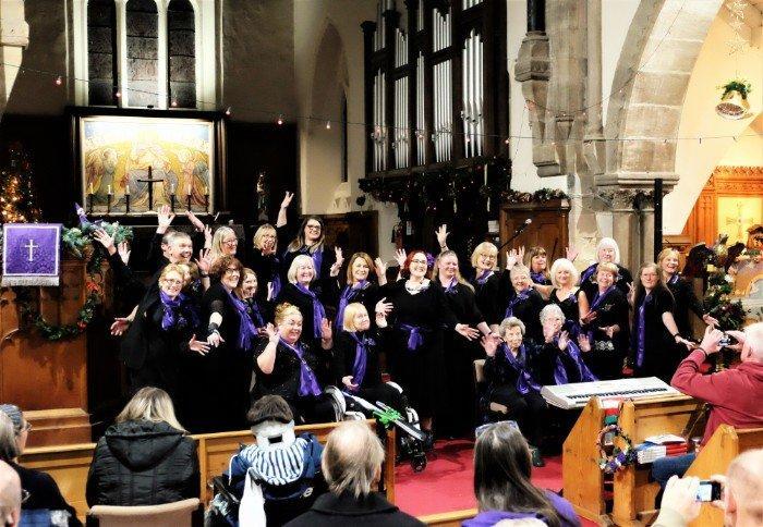 Unity Choir, The Singing Elf, Christmas Festive Times, Dec 2018