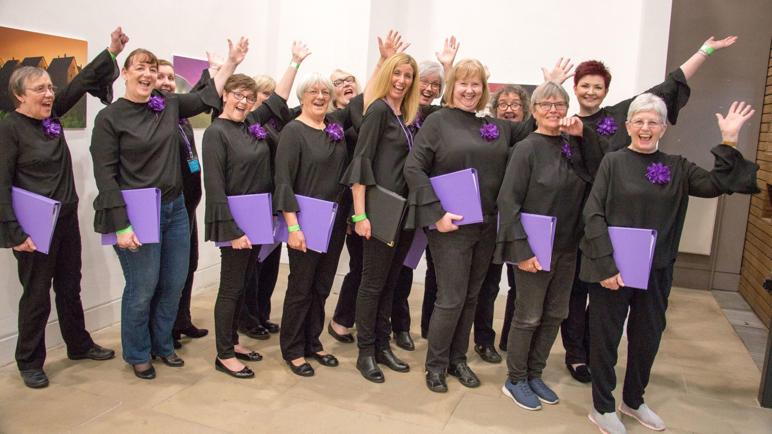 Bella Canta Ladies Choirs Jazz Hands