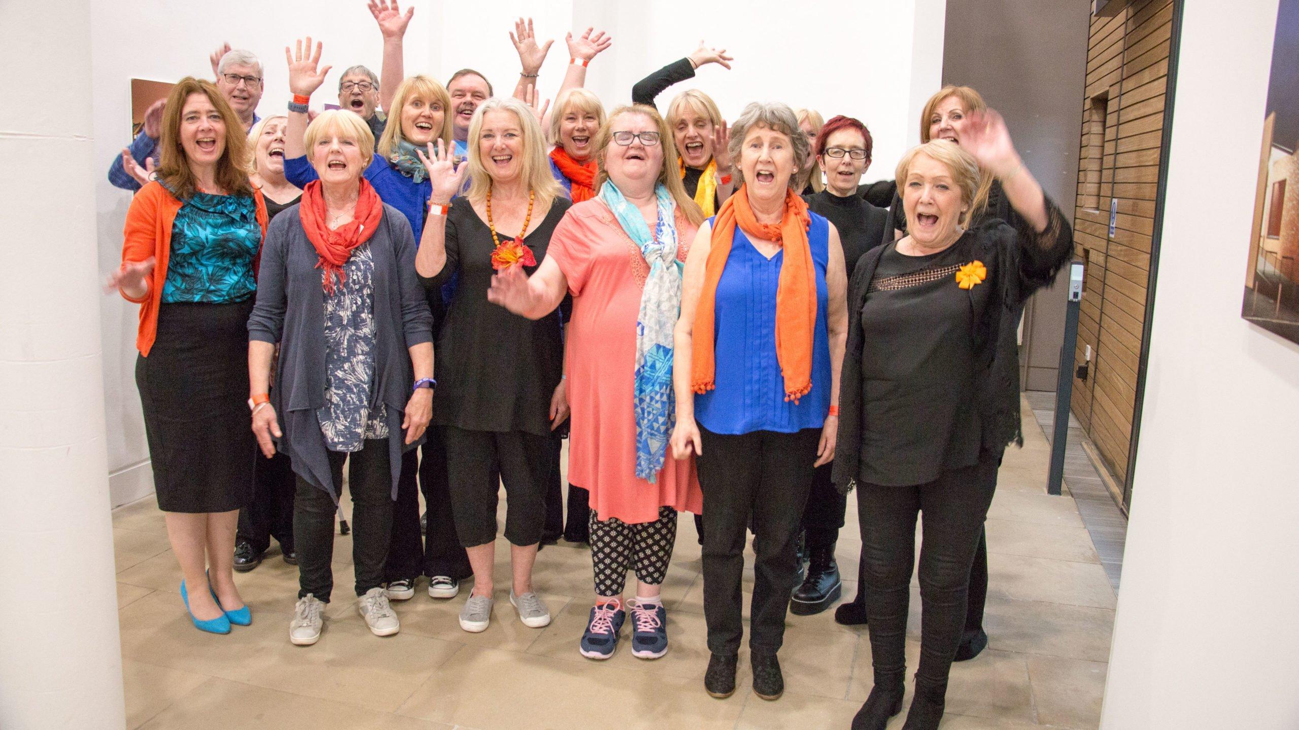 Urban Chorus Cheering