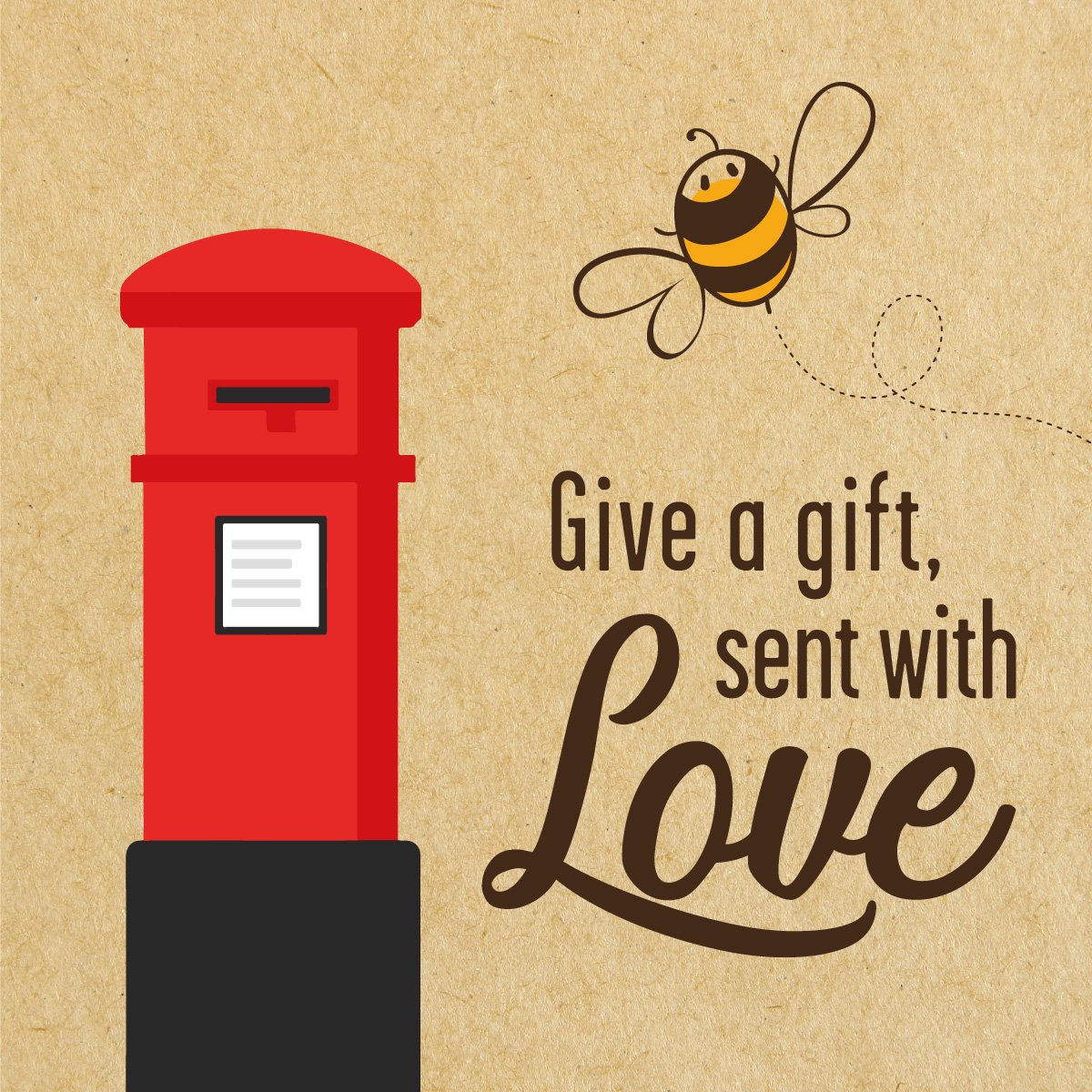 Betsy Bee & Letterbox - Give a Gift, sent with love
