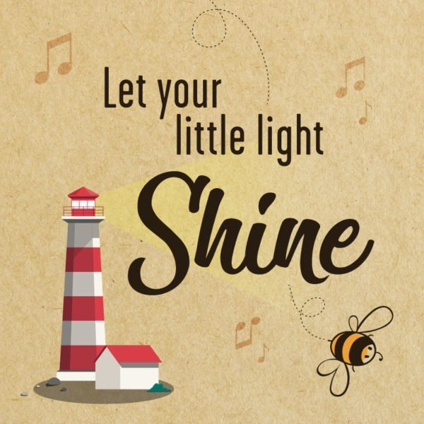 Let your little light shine