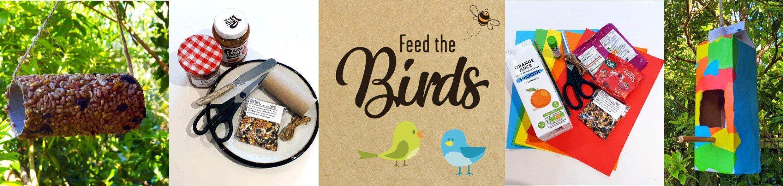 Bird Feed Collage