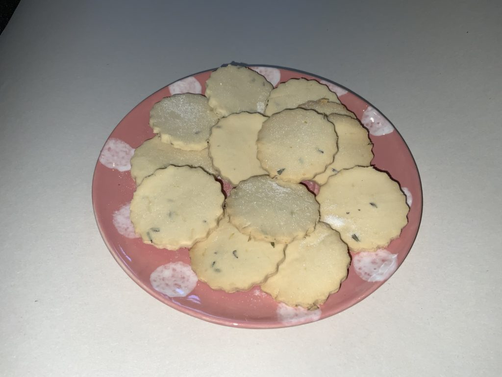 Lavender Biscuits 1