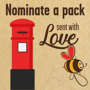 Nominate a pack sent with love