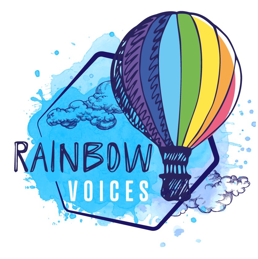 Rainbow Voices logo