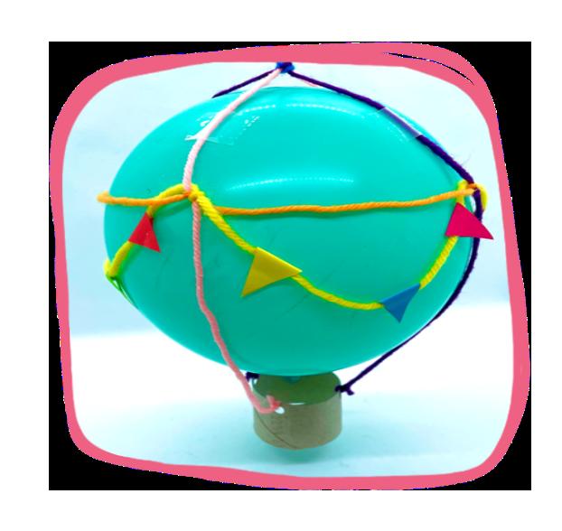 Macrame Hot Air Balloon