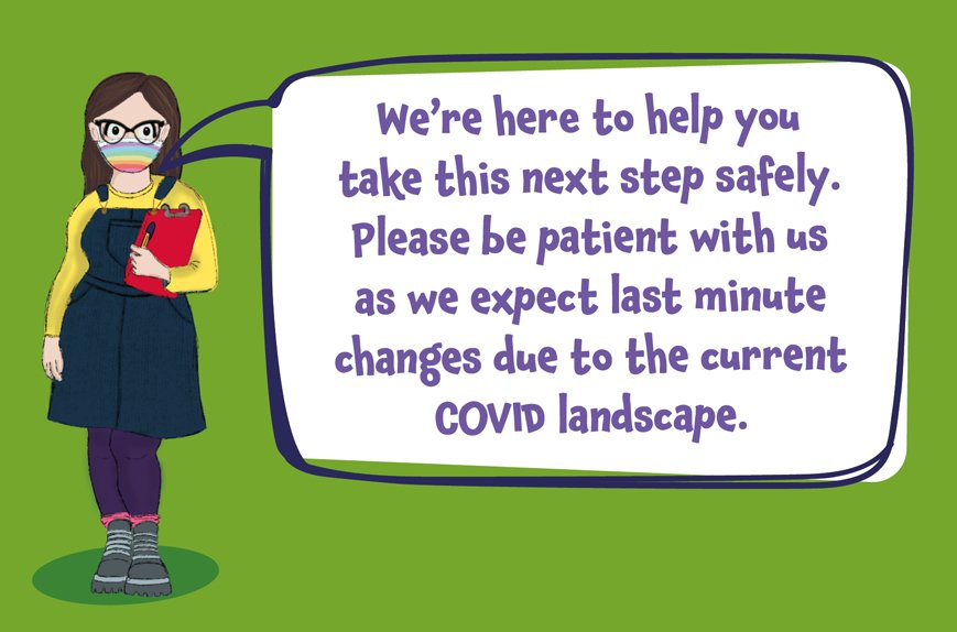 Changes might occur due to COVID