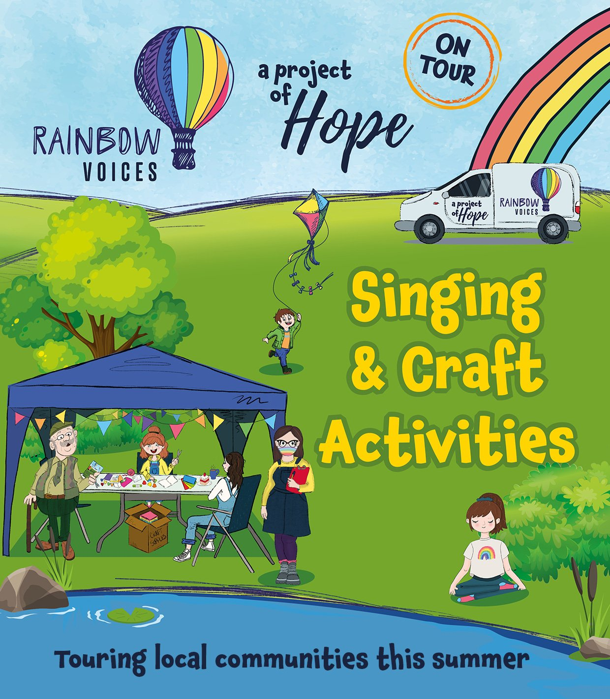 Rainbow Voices: Singing and Craft Activities