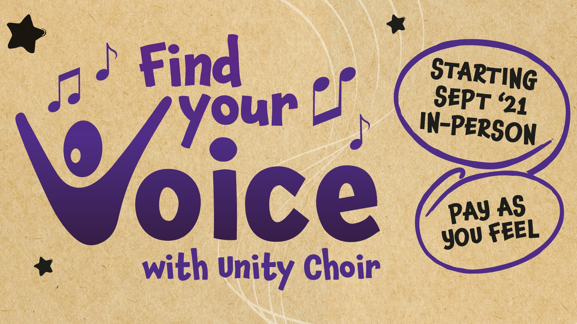 Find Your Voice with Unity Choir