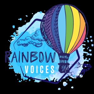 Rainbow Voices Logo