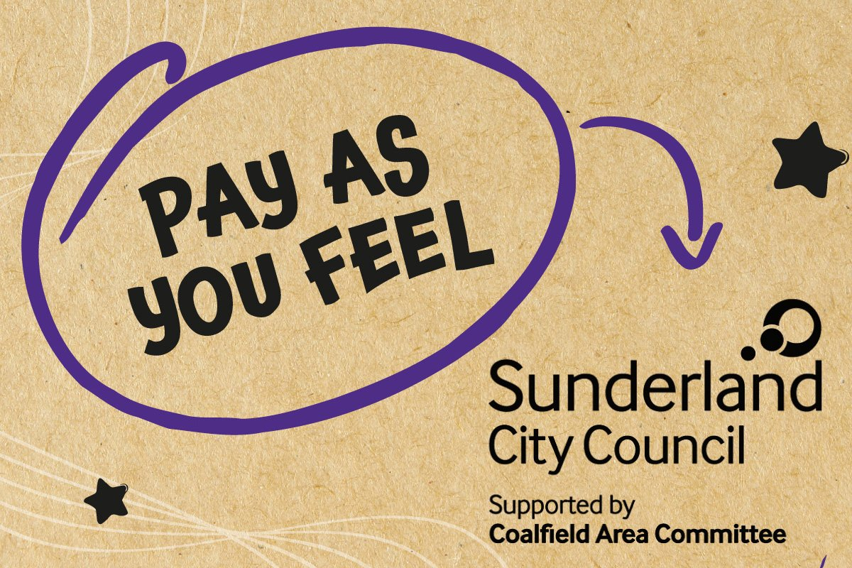 Pay as you feel, funded by Sunderland City Council