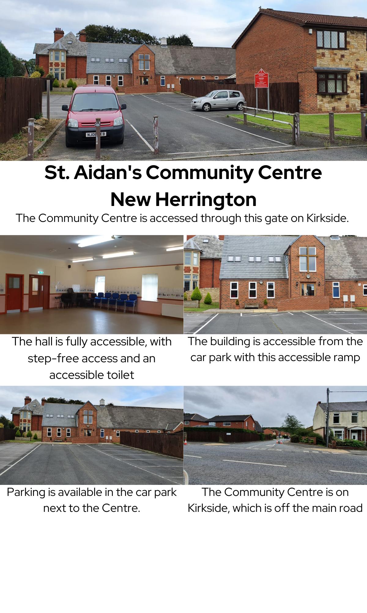 St. Aidan's Information Sheet