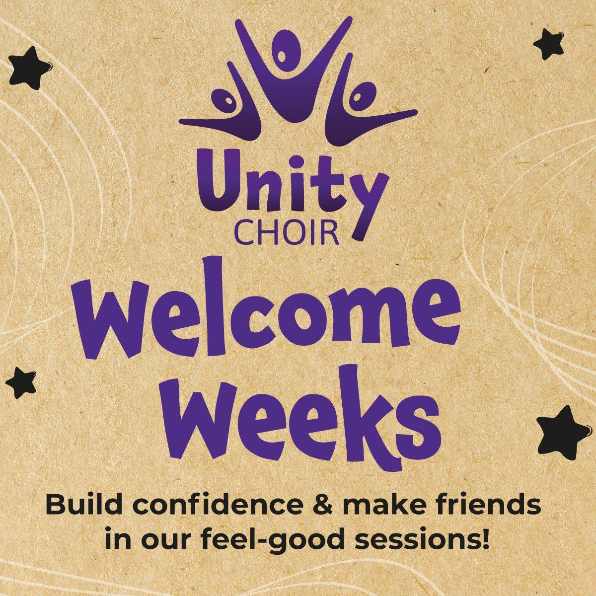 Unity Choir Welcome Weeks